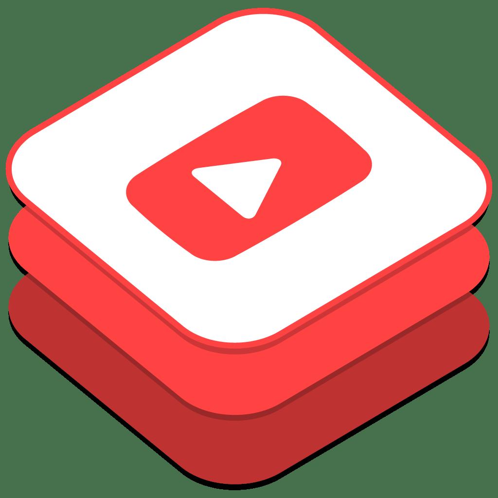 Youtube Icon | iOS8 Style Social Iconset | DesignBolts