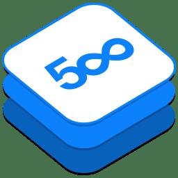 500px icon