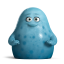 Cute Blue Monsters icon