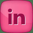 Hover LinkedIn icon
