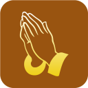 Christianity Praying Hand Symbol icon