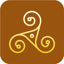 Paganism Triskelion icon