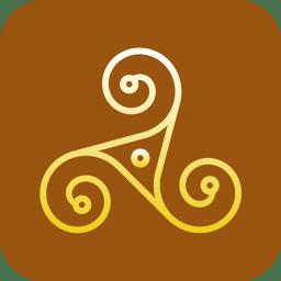 Paganism Triskelion icon