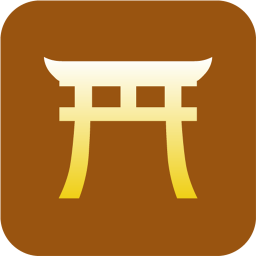 Shinto torii icon