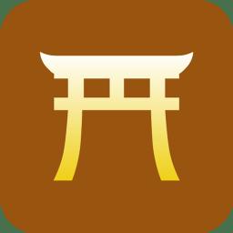 Shinto torii icon