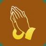 Christianity-Praying-Hand-Symbol icon