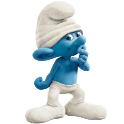 clumsy smurf icon