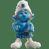 Gutsy-smurf icon