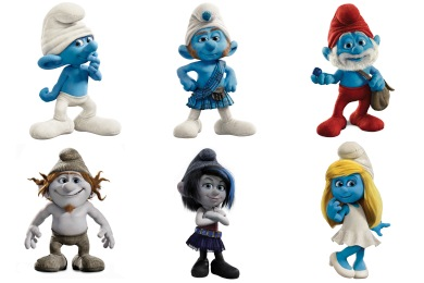 The Smurfs 2 Movie Icons