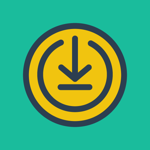 Push-Button-Download icon