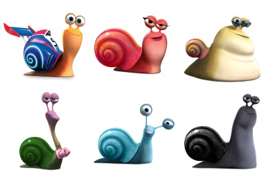Turbo Película 2013 Icons
