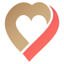 Valentine heart icon