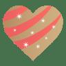 Golden-heart icon