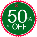 Christmas 50 Percent icon