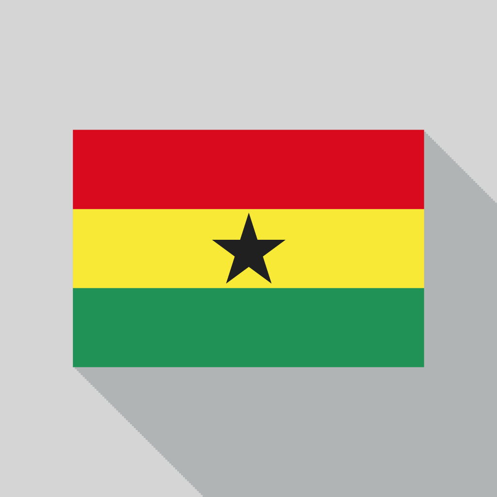 Ghana flag for pinterest