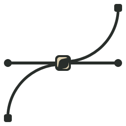 Bezier Curve icon