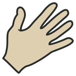 Hand icon