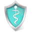 Health-care-shield icon