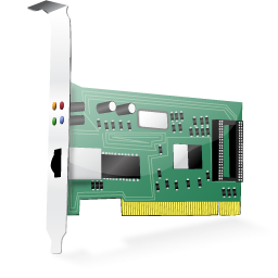 ethernet card Vista icon