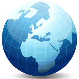 Globe Vista Icon DevCom Network Set 1 Iconset DevCom