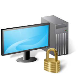 workstation locked Vista icon