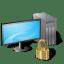 workstation locked Vista icon