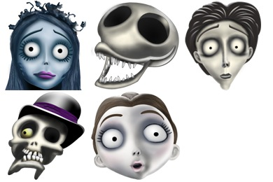 Corpse Bride Icons