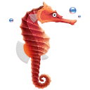 Seahorse icon