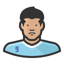 Luis suarez icon