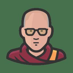dalai lama icon