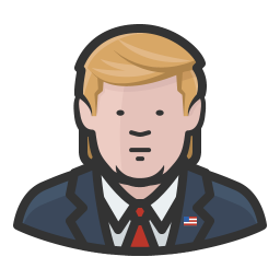 Donald trump icon