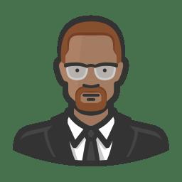 Malcolm x icon