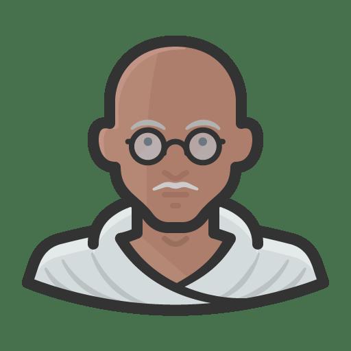 Mahatma-gandhi icon