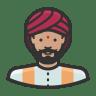 Indian-man icon