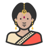 Indian-woman icon