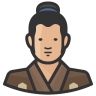 Traditiona-japanese-man icon