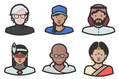Free Avatars Icons