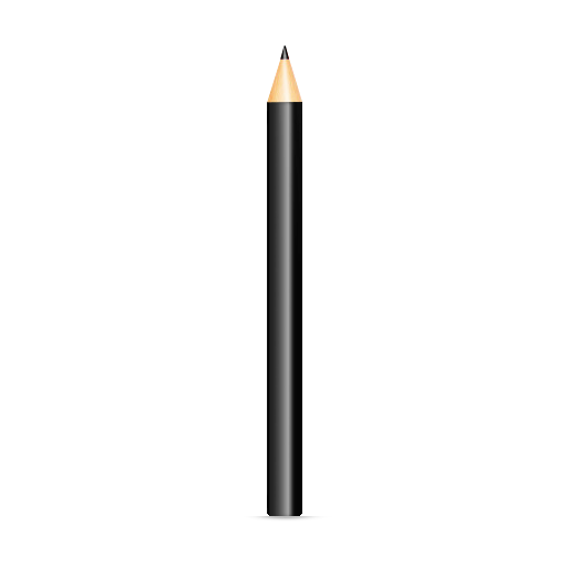 06 black pencil icon