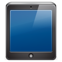 Ipad black icon