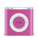 ipod nano pink icon