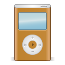 Ipod-orange icon
