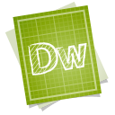 Adobe blueprint dreamweaver icon