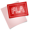Adobe blueprint fla icon