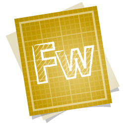Adobe blueprint fireworks icon