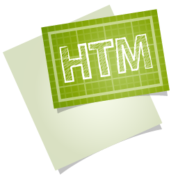 Adobe blueprint htm icon
