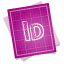 Adobe-blueprint-indesign icon