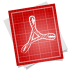 Adobe-blueprint-pdf-symbol icon