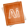 Adobe-blueprint-illustrator icon