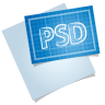 Adobe-blueprint-psd icon