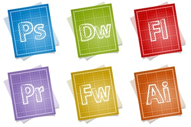 Blueprint Adobe Icons